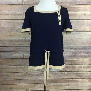 Goldworm Short Sleeve Sweater